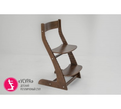 Детский растущий регулируемый стул Бельмарко «Усура орех»