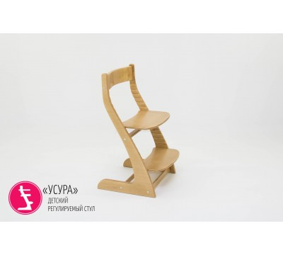 Детский растущий регулируемый стул Бельмарко «Усура древесный»