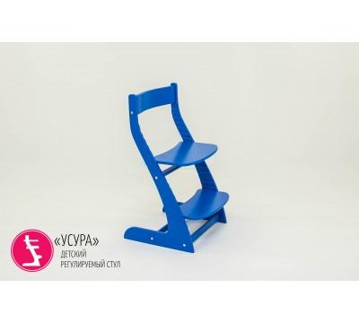 Детский растущий регулируемый стул Бельмарко «Усура синий»