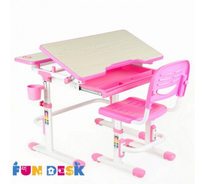 Lavoro -детская парта и регулируемый стульчик FunDesk