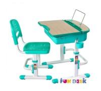 Capri -детская парта и регулируемый стульчик FunDesk