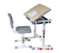 Piccolino -детская парта и регулируемый стульчик FunDesk