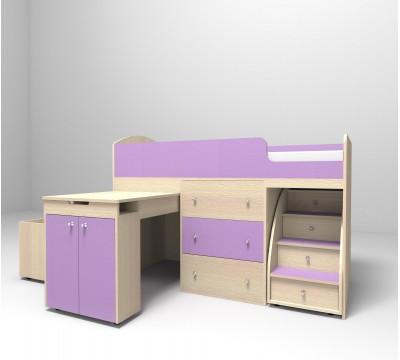 Кровать-чердак Малыш 180