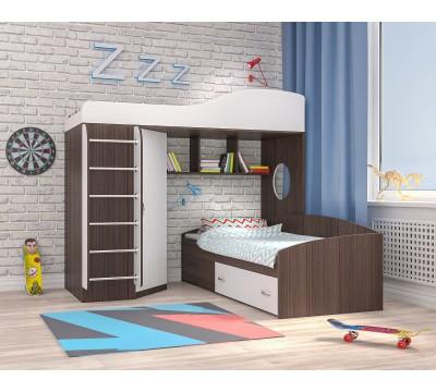 Кровать чердак Кадет-2M
