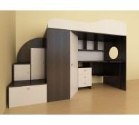 Кровать чердак Кадет-1