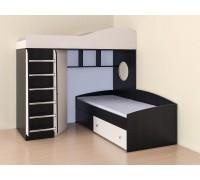 Кровать чердак Кадет-2 (метал)