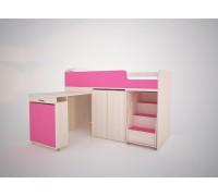 Кровать-чердак Малыш -Эконом 160х70