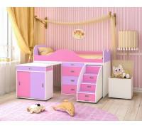 Кровать-чердак Малыш-Люкс 180х80