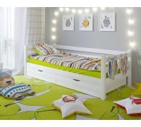 Кровать Сонечка с бортиком и ящиками