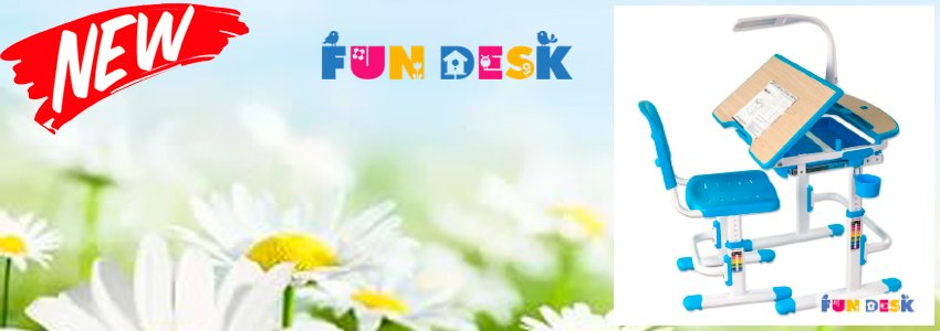 Стильные парты FunDesk от 7900.-